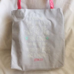 NWT Plans For You Tote Bag